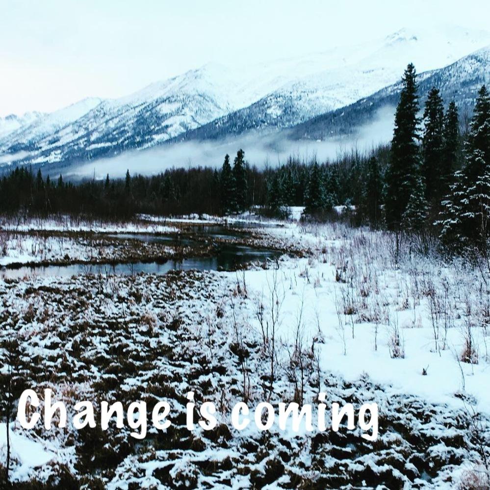 alaskan mountians - change